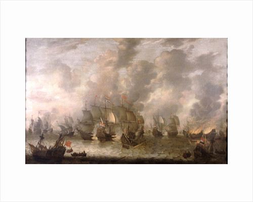 The Battle of Scheveningen, 31 July 1653 by Jan Abrahamsz Beerstraaten