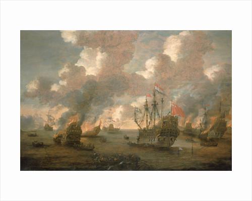 Dutch Attack on the Medway, 9-14 June 1667 by Pieter van den Velde