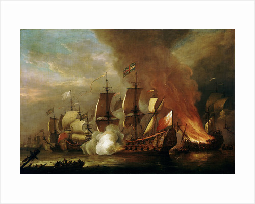 An action of the English succession by Adriaen van Diest
