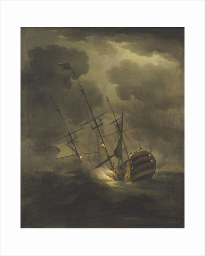 Loss of HMS 'Victory', 4 October 1744 by Peter Monamy