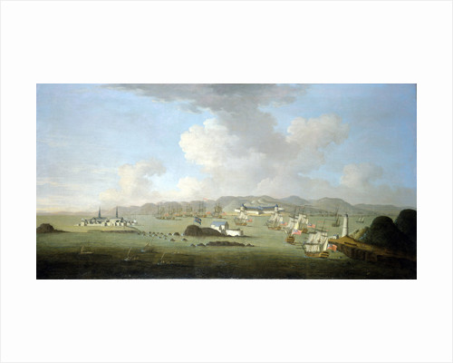 The capture of Louisburg, 28 June 1745 by Peter Monamy