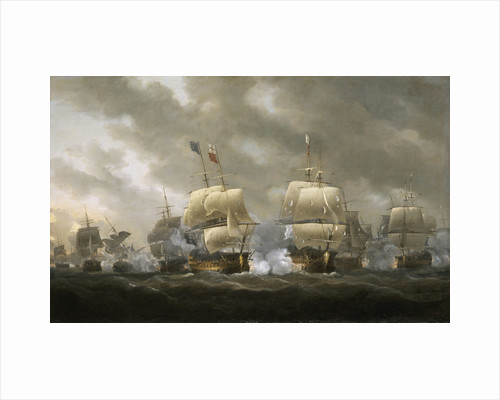 The Battle of Quiberon Bay, 20 November 1759 by Nicholas Pocock