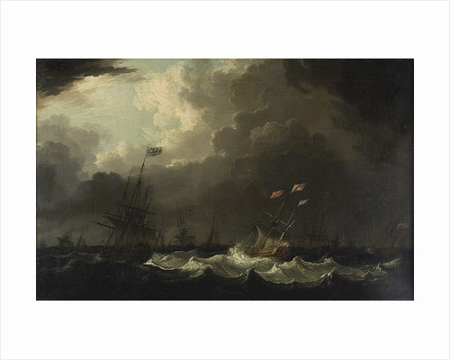 Princess Charlotte's passage to England, September 1761 by Richard Wright