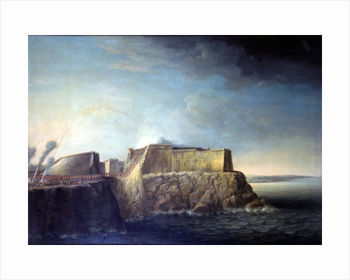 The capture of Havana: storming of Morro Castle, 30 July 1762 by Dominic Serres the Elder