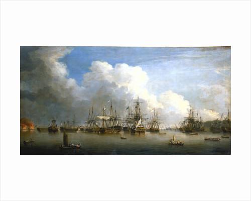 The captured Spanish fleet at Havana, August-September 1762 by Dominic Serres the Elder