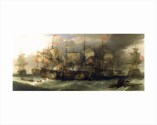 The Battle of Cape St Vincent, 14 February 1797 by William Allan