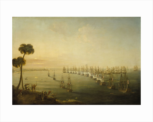 The Battle of the Nile, 1 August 1798 by Nicholas Pocock