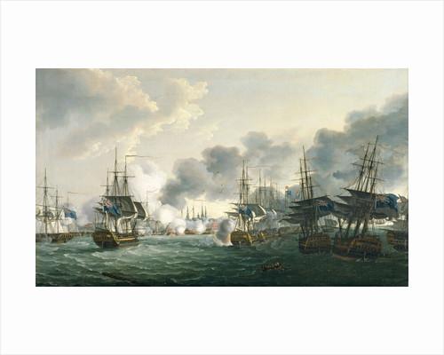 The Battle of Copenhagen, 2 April 1801 by John Thomas Serres