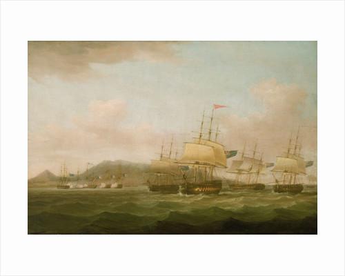 The capture of Saint Paul near the Isle de Bourbon, 21 September 1809 by Thomas Whitcombe