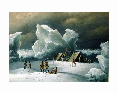 Captain Markham's most northerly encampment by Richard Brydges Beechey