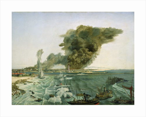 Withdrawal from Dunkirk, June 1940 by Richard Ernst Eurich