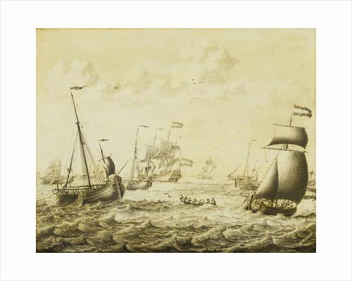 Dutch herring fishery by Adriaen van Salm
