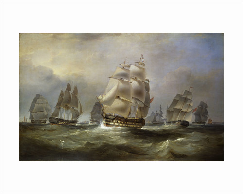 East Indiamen in the China seas by William John Huggins