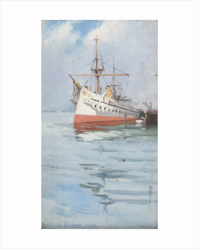 An Indian troopship by Beatrix Fisher
