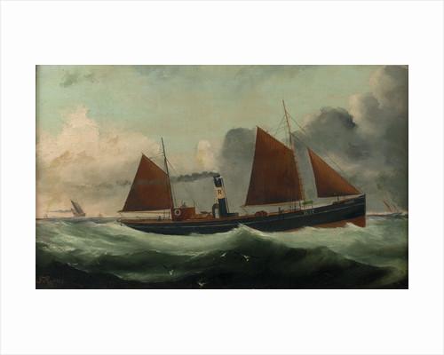 The Harwich steam trawler 'Spider' by G. Ramsey