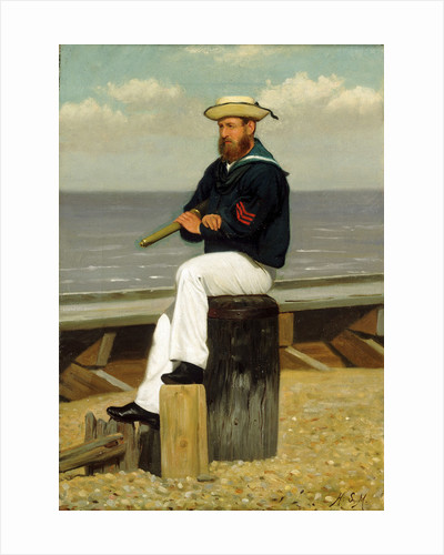 Sailor on look out by Henry Stacey Marks