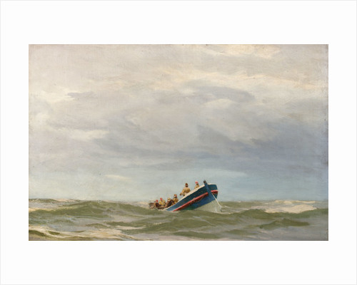 A life boat by John Fraser