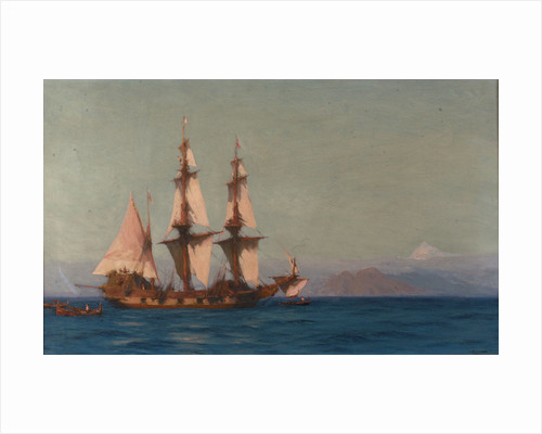 A ship of Tenerife by John Fraser