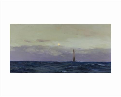 The Wolf Rock lighthouse by John Fraser