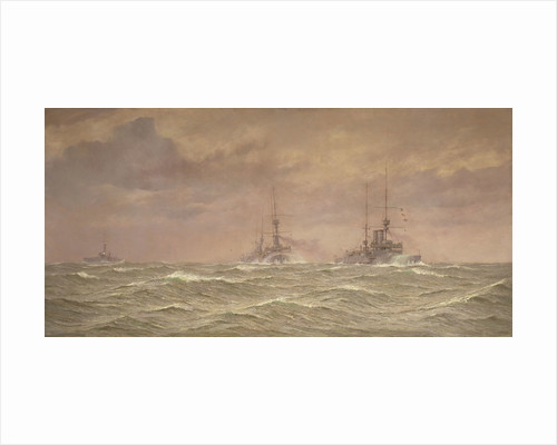 Battleships of the 3rd Squadron, 1912 by Alma Claude Burlton Cull