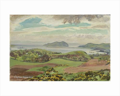 Campbelltown Loch, April 1944 by Stephen Bone