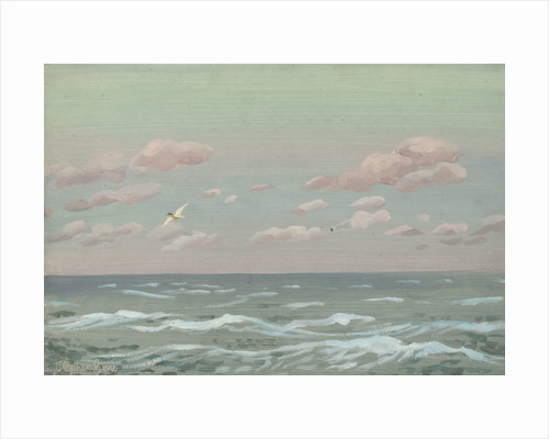 Sunrise at sea by Stephen Bone