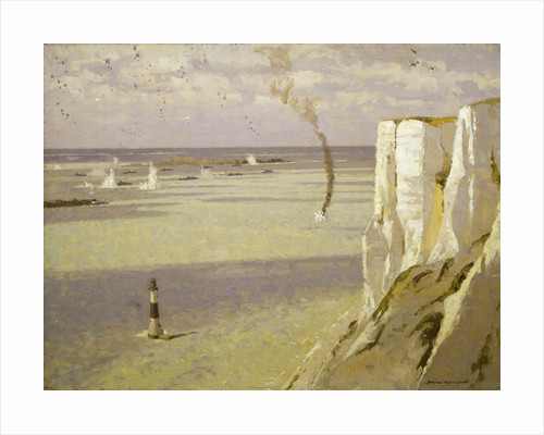 Beachy Head: attack on a convoy by Norman Wilkinson