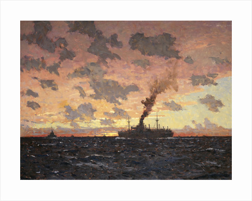 A lame duck by Norman Wilkinson