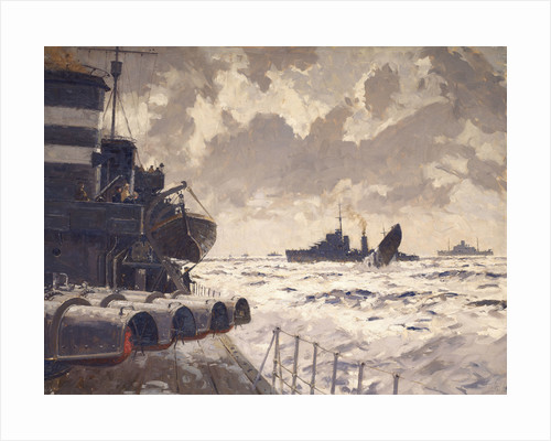 End of a U-boat by Norman Wilkinson