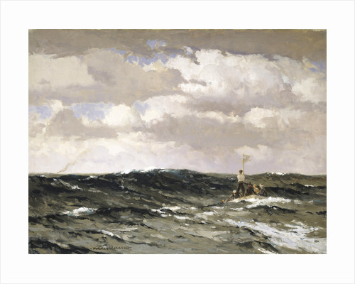 The raft by Norman Wilkinson