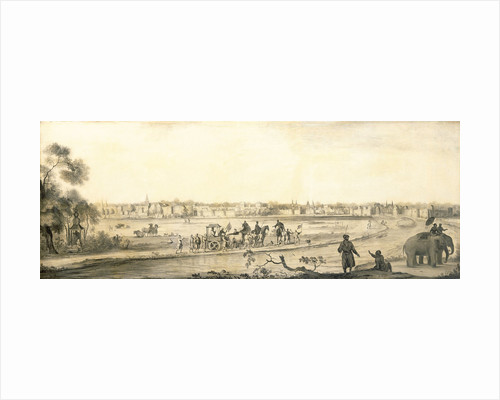 Surat from the land by Ludolf Bakhuizen