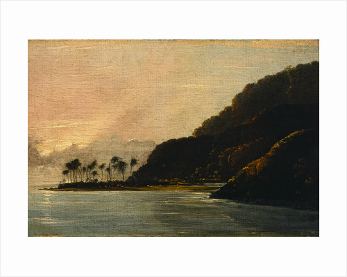 A View of Point Venus and Matavai Bay, looking east by William Hodges
