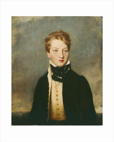Rear-Admiral Louis Tindal as a boy (circa 1810-1876) by British School