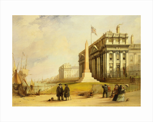 The Bellot memorial at Greenwich Hospital by George Chambers