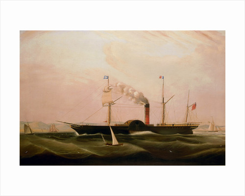 The paddle steamer 'City of London' by William Clark