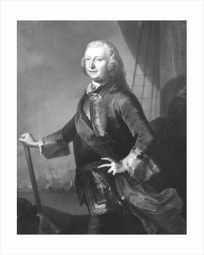Lord George Anson (1697-1762) by British School