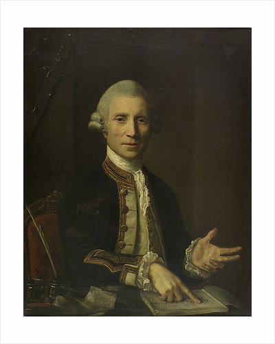 Captain Thomas Baillie (d.1802) by Nathaniel Hone the Elder
