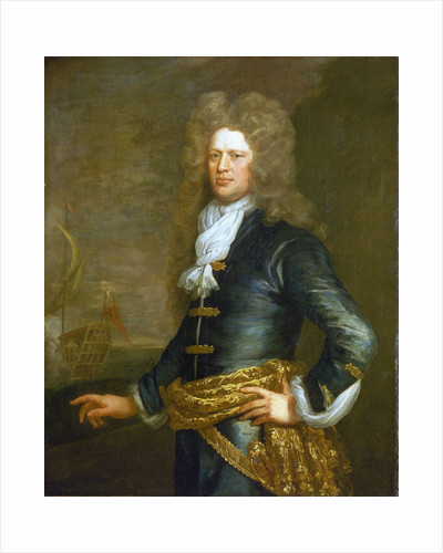 Admiral Sir John Balchen (1670-1744) by Jonathan Richardson