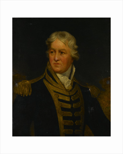 Admiral Charles Middleton, later Lord Barham (1726-1813) by Isaac Pocock