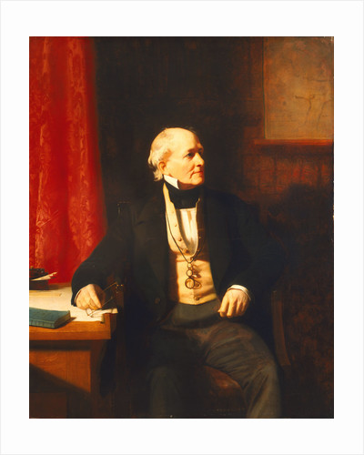 Rear-Admiral Sir Francis Beaufort (1774-1857) by Stephen Pearce