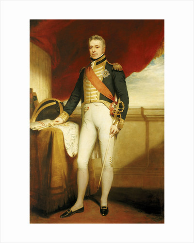 Admiral of the Fleet Sir George Cockburn (1772-1853) by William Beechey