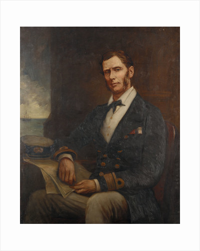 Rear-Admiral Sir Henry John Codrington (1808-1877) by Cato Lowes Dickinson