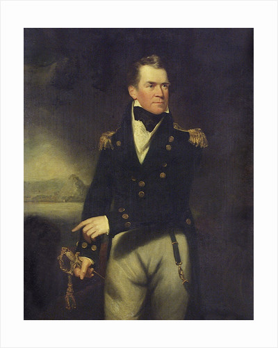 Captain Sir George Ralph Collier (1774-1824) by William Beechey