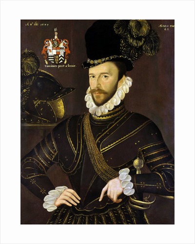 Richard Drake (1535-1603) by George Gower
