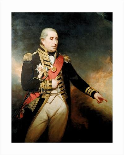 Admiral Sir John Thomas Duckworth (1748-1817) by William Beechey