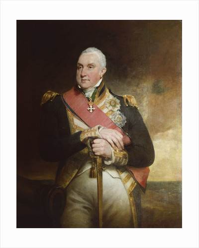 Admiral Edward Pellew, 1st Viscount Exmouth (1757-1833) by William Owen