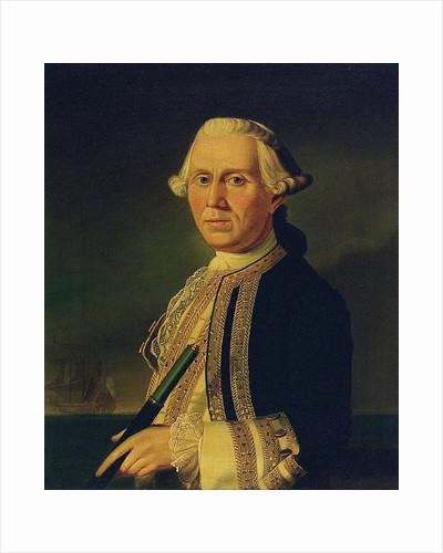 Captain James Ferguson (1723-1793) by British School