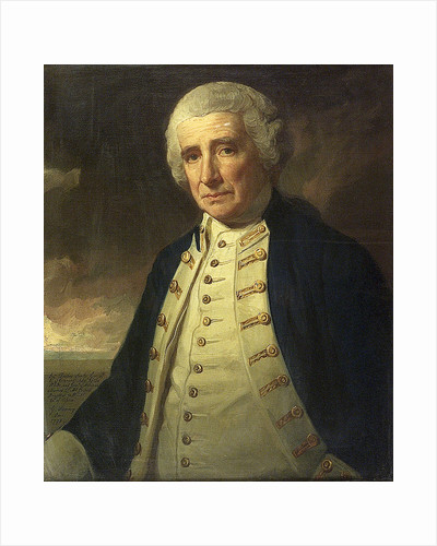 Admiral John Forbes (1714-1796) by George Romney