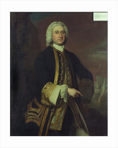 Captain William Gordon (circa 1709-1768) by Joseph Highmore