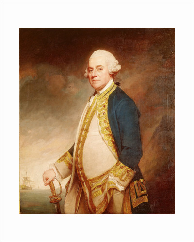 Admiral Sir Charles Hardy (circa 1716-1780) by George Romney